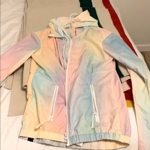 PASTEL RAINBOW JACKET FROM BENCH 🌈 SZ M 🌈
